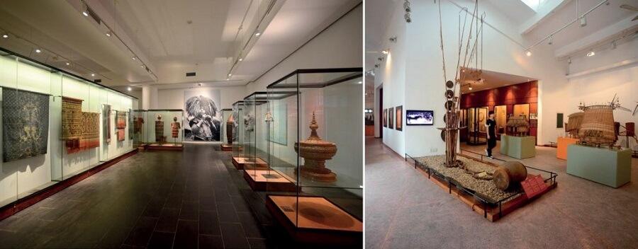 khu bảo tàng Đà Lạt dân tộc Lâm Đồng