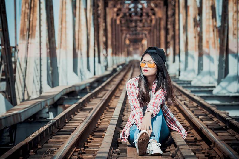Cầu Long Biên địa điểm chụp ảnh nỗi tiếng