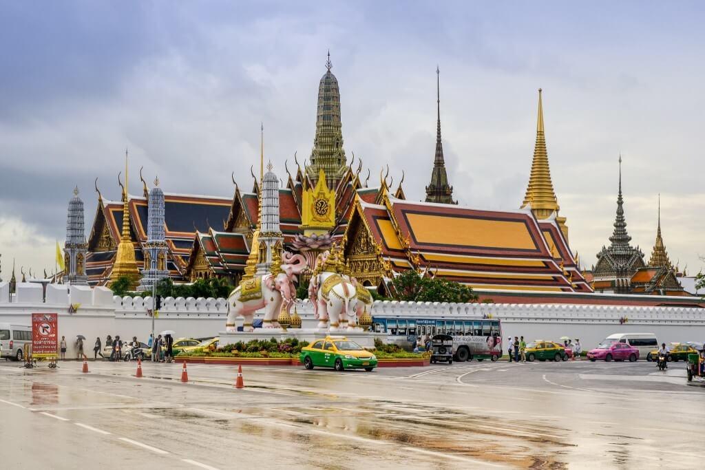 chùa Wat Phra Kaew có kiến trúc tuyệt điẹp