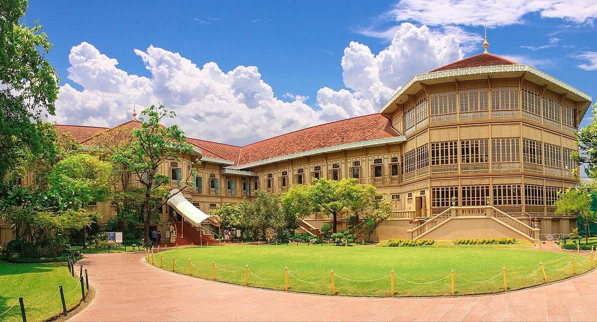 Cung điện Vimanmek làm bằng gỗ