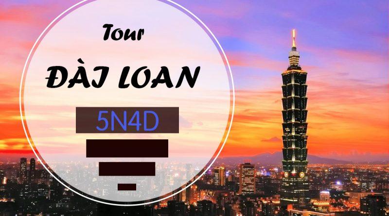 Tour Du Lịch Đài Loan5N4Đ