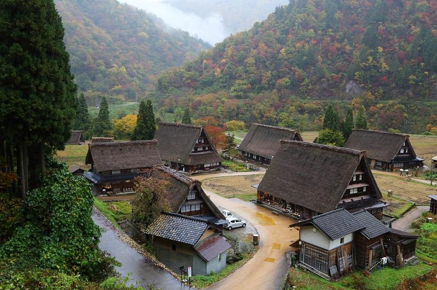 Shirakawago Village, Gokayama, Nhật Bản