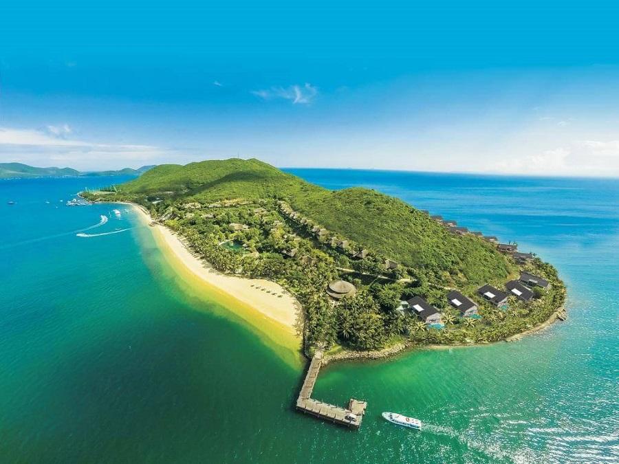 cảnh đẹp nha trang hiện hữu trên đảo Hòn Tằm