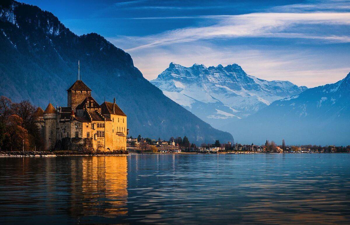 Hồ Geneva mang vẻ đẹp yên bình