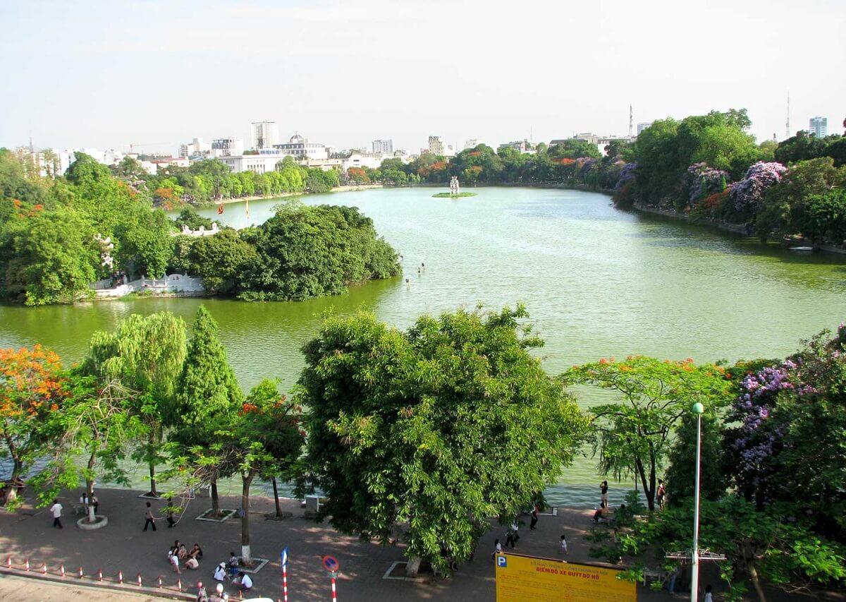 Hồ Hoàn Kiếm biểu tượng của Hà Nội