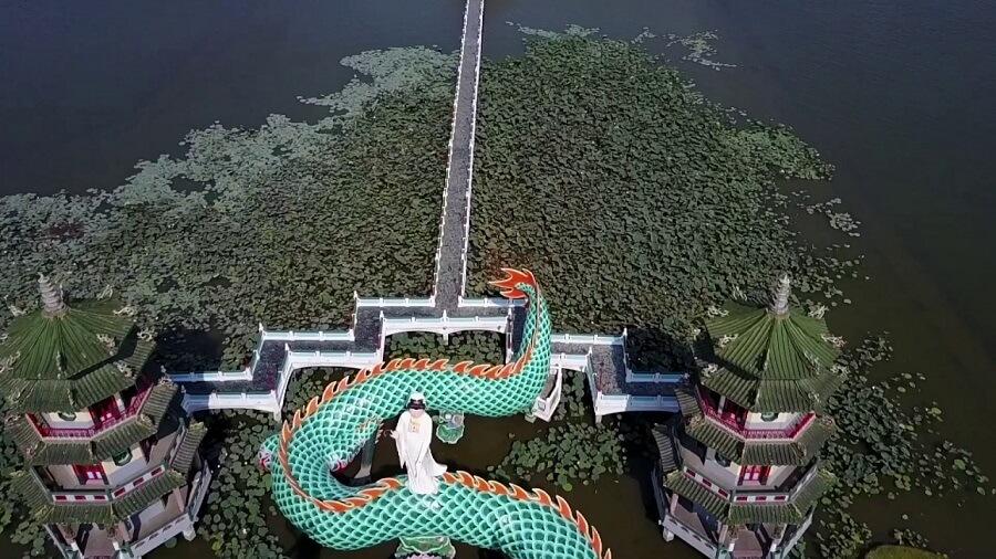 Hồ Sen là địa điểm nỗi tiếng du lịch Đài Loan