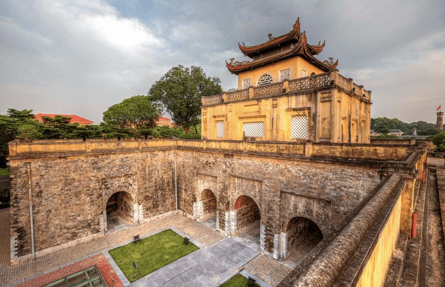 Hoàng Thành Thăng Long chụp ảnh rất đẹp