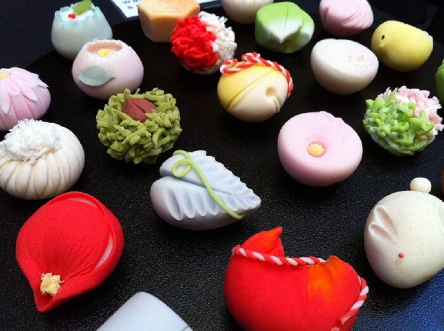 kẹo nhật bản có một lịch sử lâu đời trong ẩm thực nhật bản và lâu đời
