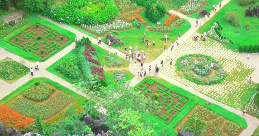 Khu du lịch Hàm Rồng rộng lớn và tràn đầy màu xanh
