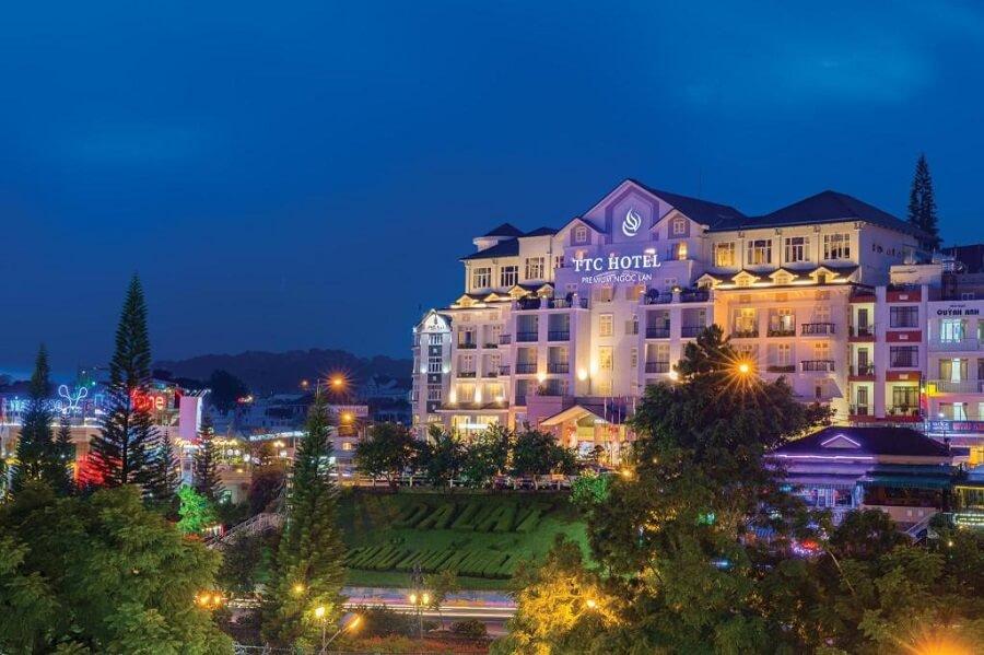 Điểm nghỉ chân cho khách du lịch Đà Lạt Khách sạn Ngọc Lan