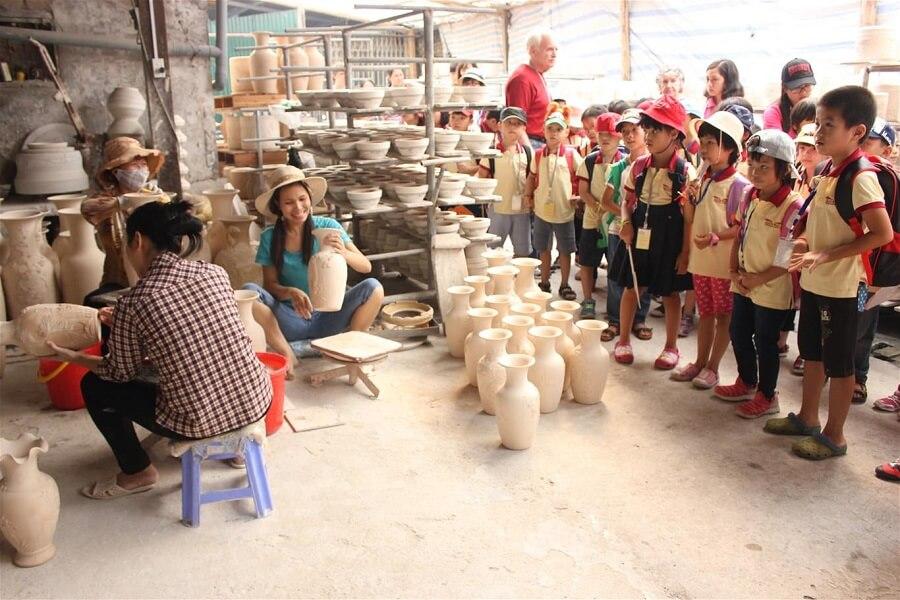 Làng gốm Bát Tràng nỗi tiếng nhất Việt Nam