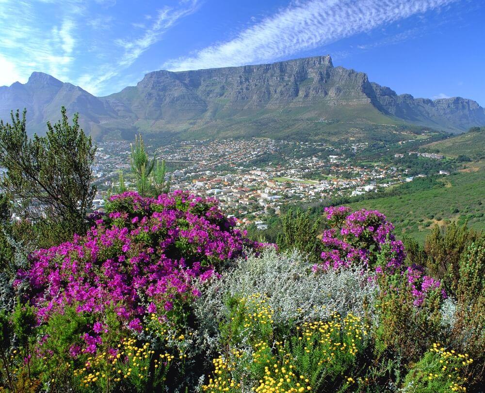 Núi Bàn Nam Phi cao nguyên đẹp nhất thế giới