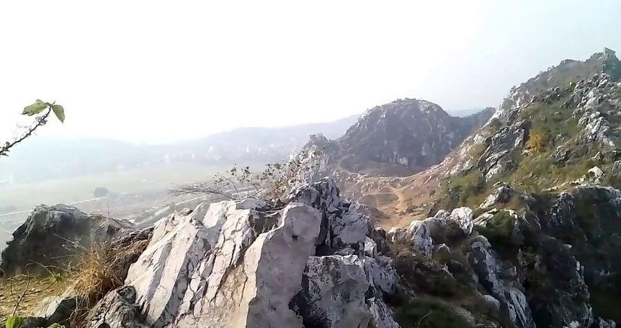 Núi Trầm chuyên dành cho du lich ngoài trời