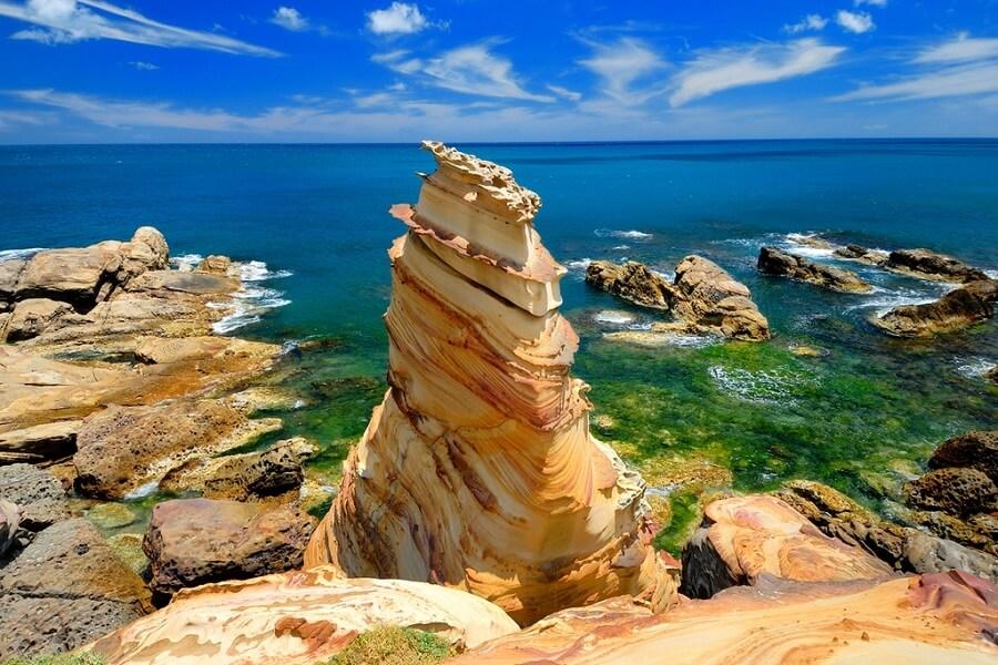 Nanya Rock địa điểm du lịch du khách Đài Loan