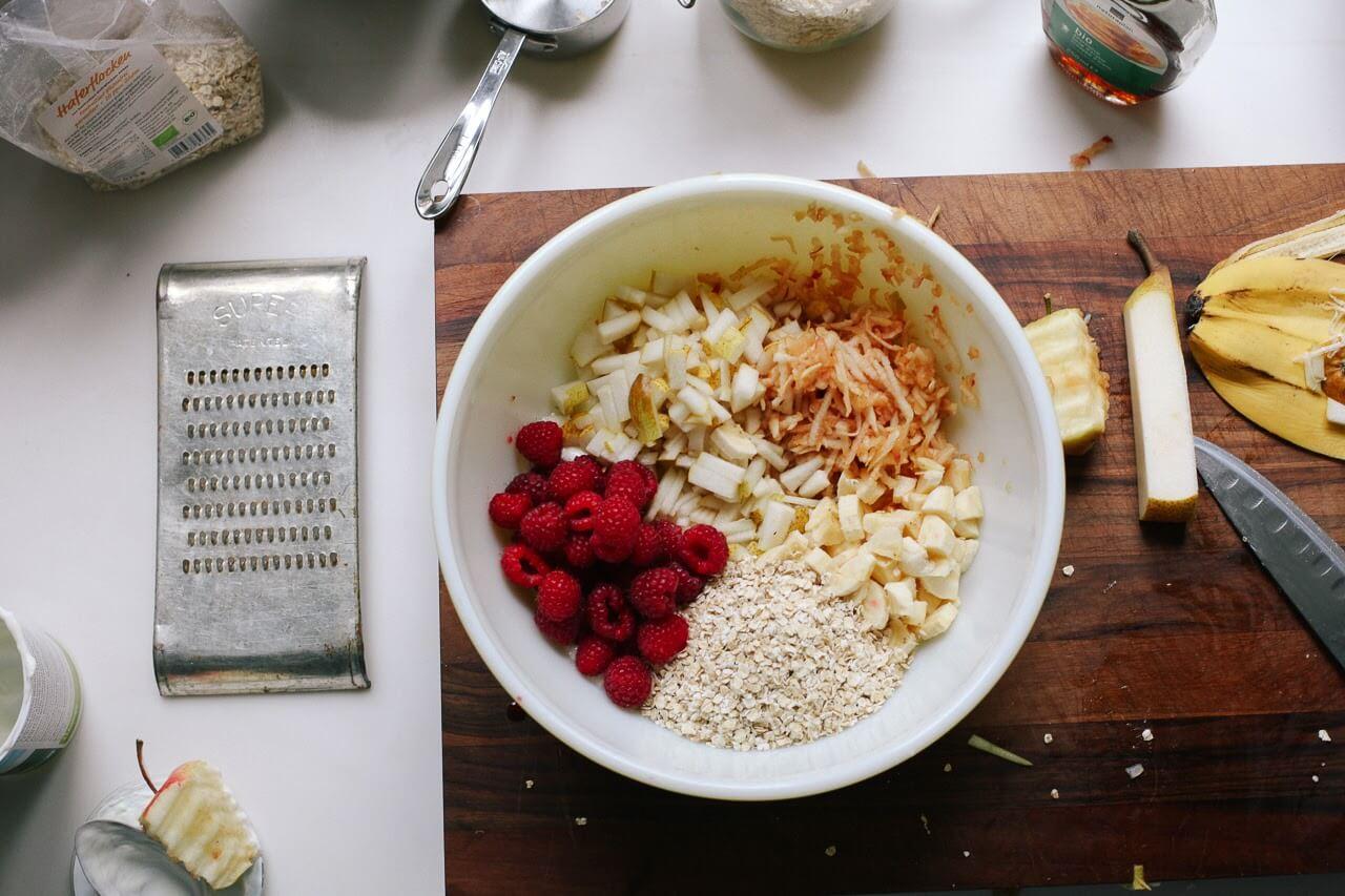 Ngũ cốc trộn hoa quả Bircherműesli đầy dinh dưỡng và tốt cho sức khỏe