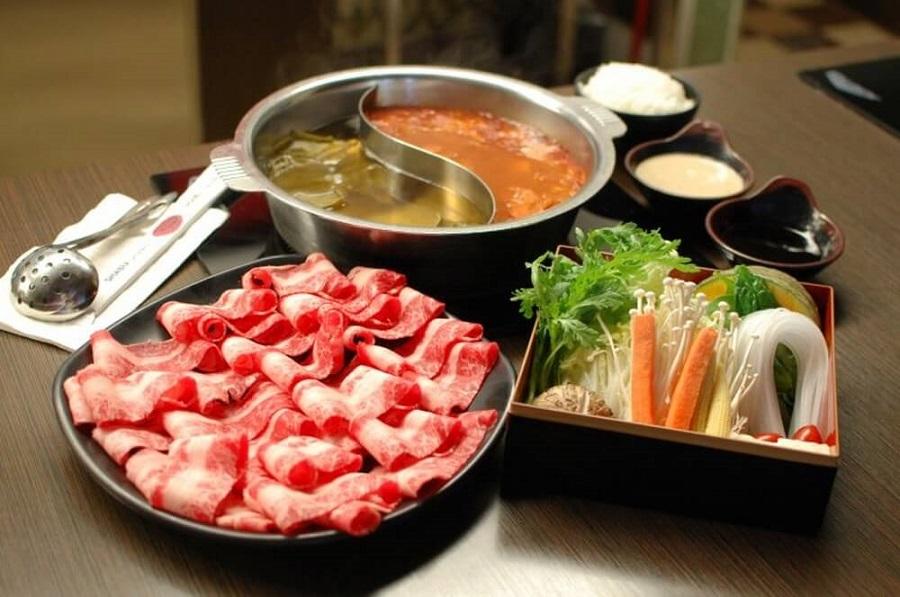 ẩm thực Nhật Bản không thể không nhắc đến lẩu Shabu Shabu