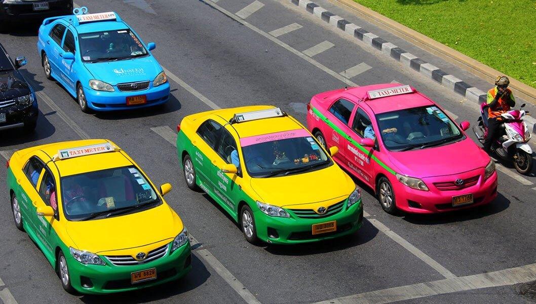 Taxi ở Thái Lan