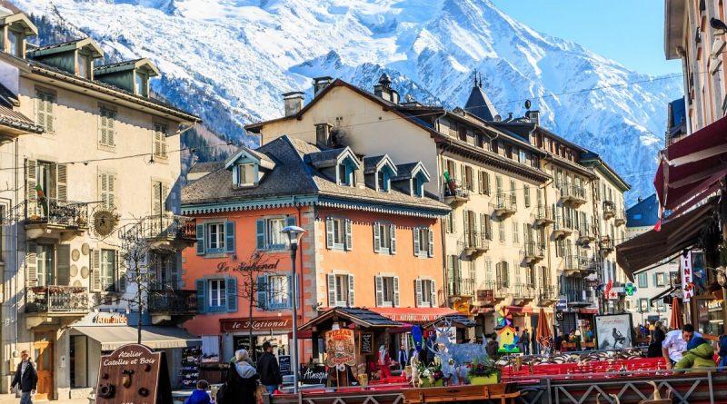 Thành Phố Chamonix đẹp không kém gì thành phố trung tâm Thụy Sĩ