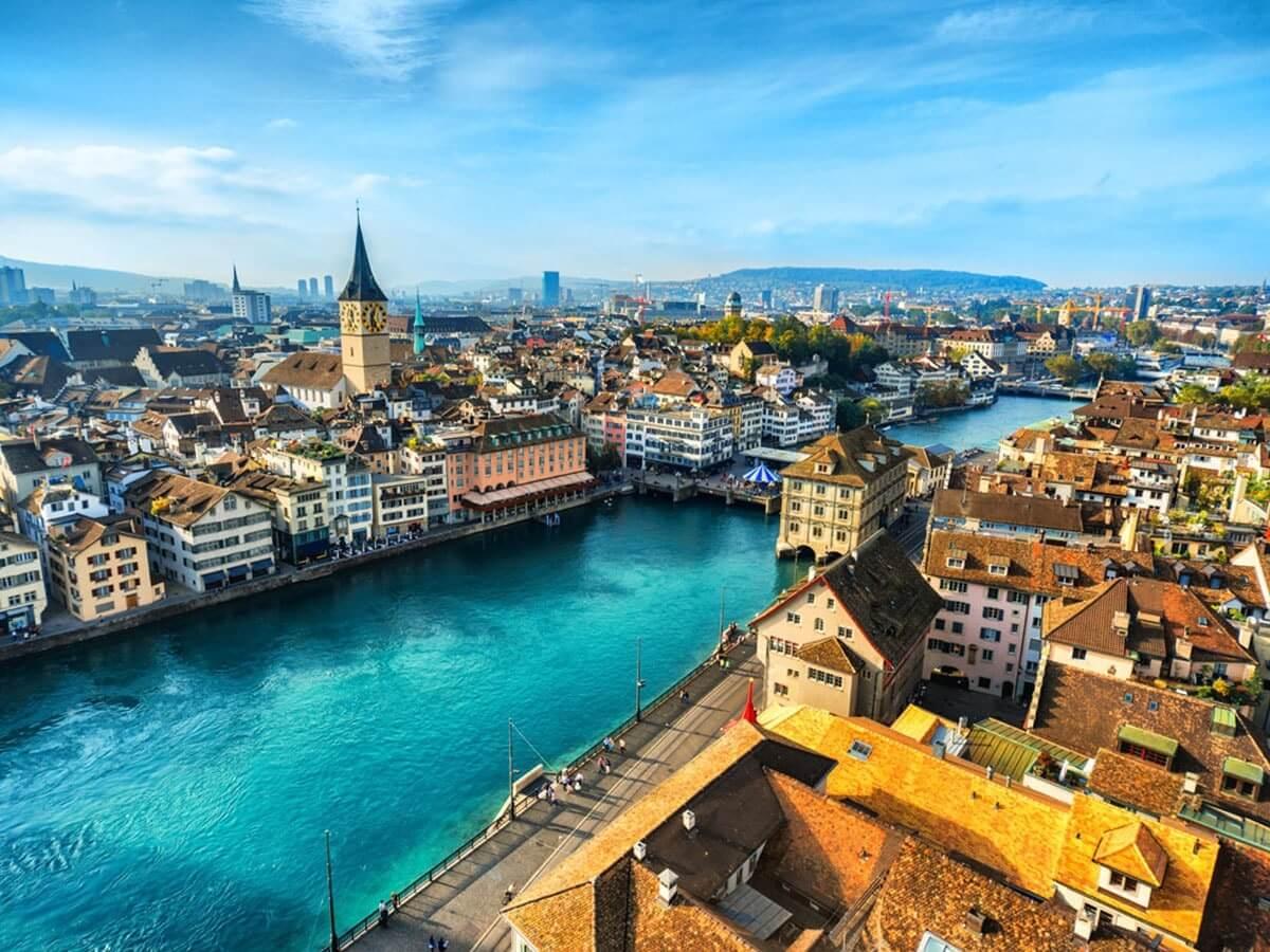 thành phố zurich lớn nhất Thụy Sĩ