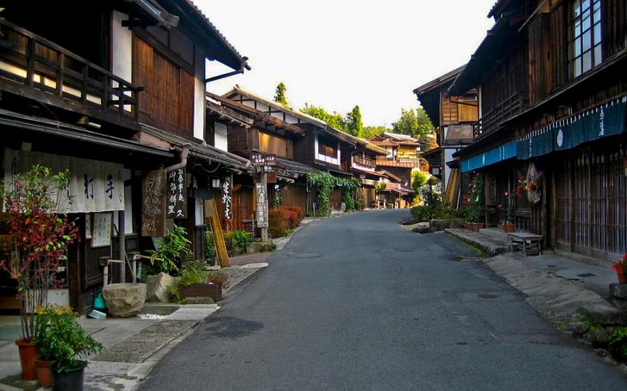 thung lũng kisi là Ngôi làng cổ đẹp nhất và cảnh đẹp nhất của đất nước phù tang mà bạn phải đến khi du lịch nhật bản