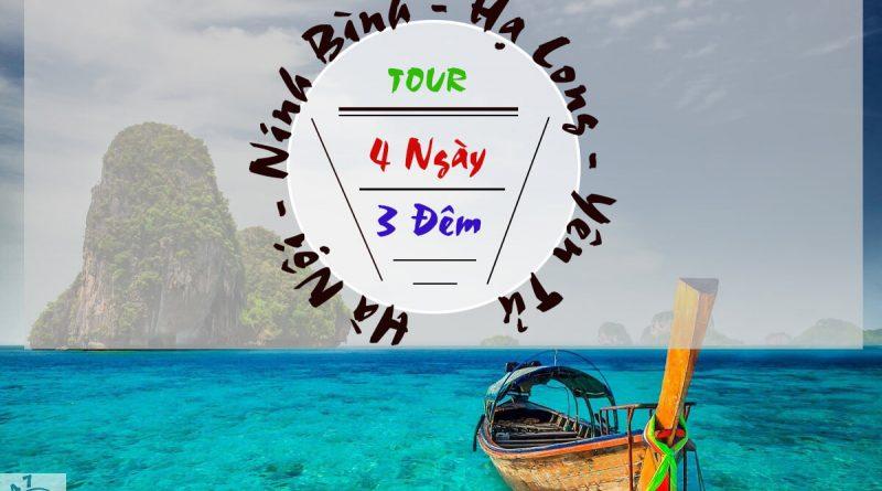 Tour Du Lịch 4N3D Hà Nội - Ninh Bình - Hạ Long - Yên Tử