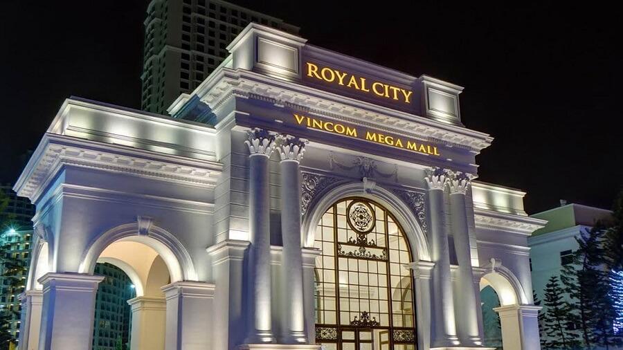 Vincom Mega Mall Royal Ciity Hà Nội tour du lịch miền bắc, du lịch Hà Nội