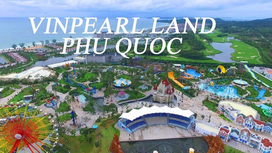 khu vui chơi du lịch Vinpearl Land tại đảo du lịch Phú Quốc
