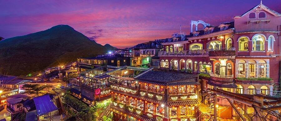 chợ đêm Phùng Giáp tour du lịch Đài Loan