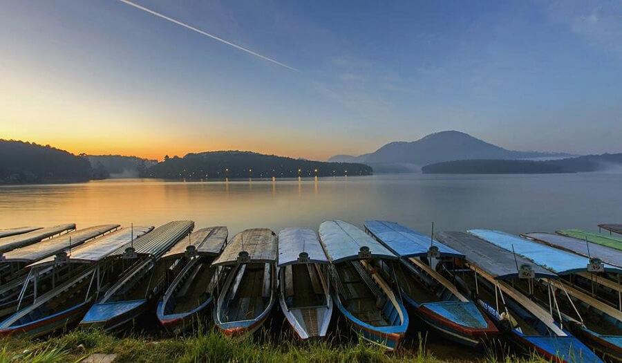 Hồ Tuyền Lâm là một trong những hồ đẹp nhất tại Đà Lạt