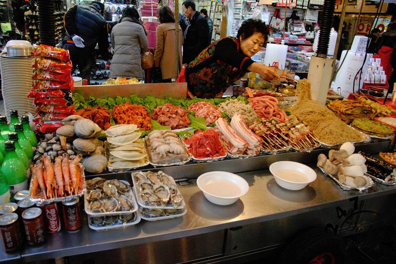 Ẩm thực đường phố Hàn Quốc Tour du lịch Hàn Quốc, du lịch Hàn Quốc Giá Rẻ, Xin visa Hà Quốc, Du lịch Hàn Quốc Ăn Gì,
