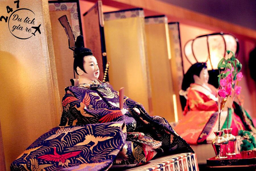 Búp bê Hinamatsuri quý tộc Du Lịch Nhật Bản Mùa Nào Đẹp Nhất, Du Lịch Nhật Bản, Tour Du Lịch Nhật Bản, Du Lịch Nhật Bản Đi Đâu, Ẩm Thực Nhật Bản, Văn Hóa Nhật Bản