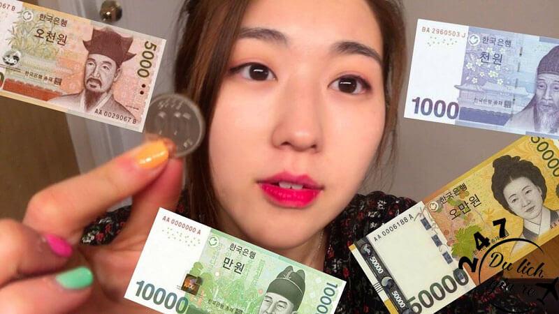 Tiền Hàn Quốc, Tour du lịch Hàn Quốc, du lịch Hàn Quốc Giá Rẻ, Xin visa Hà Quốc, Du lịch Hàn Quốc Ăn Gì,