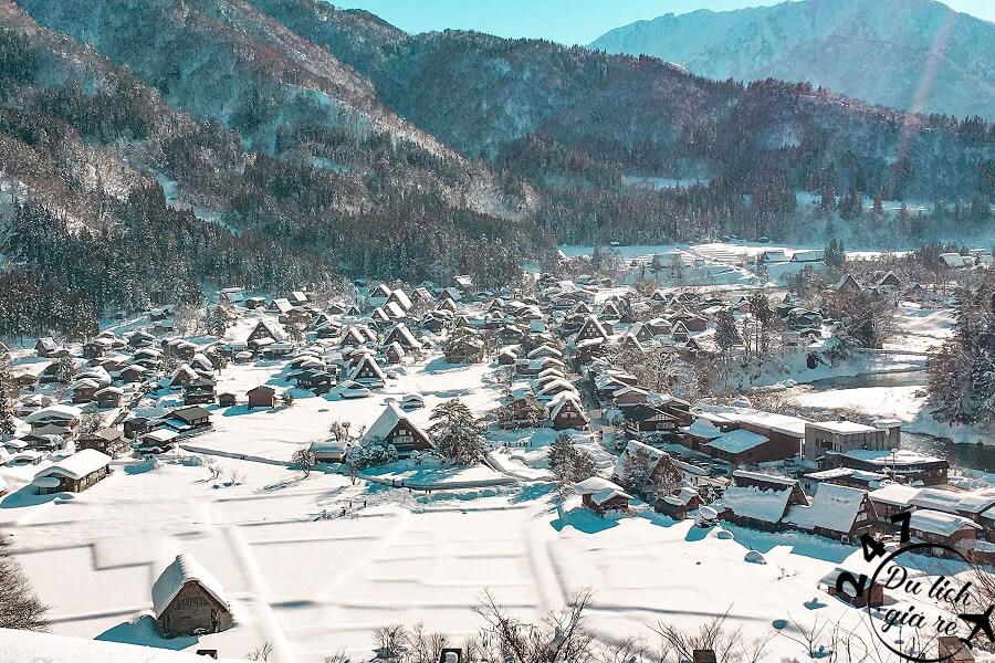 Mùa đông đắp tuyết cho thung lũng Shirakawago Du Lịch Nhật Bản Mùa Nào Đẹp Nhất, Du Lịch Nhật Bản, Tour Du Lịch Nhật Bản, Du Lịch Nhật Bản Đi Đâu, Ẩm Thực Nhật Bản, Văn Hóa Nhật Bản