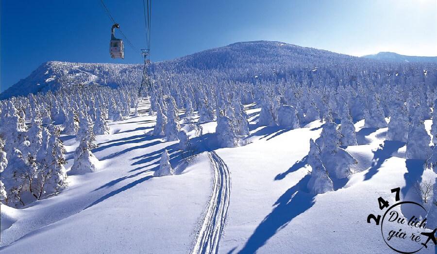 Khu trượt tuyết Zao Oshen Du Lịch Nhật Bản Mùa Nào Đẹp Nhất, Du Lịch Nhật Bản, Tour Du Lịch Nhật Bản, Du Lịch Nhật Bản Đi Đâu, Ẩm Thực Nhật Bản, Văn Hóa Nhật Bản
