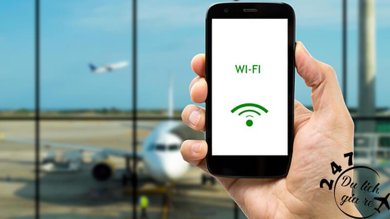 Tại tất cả sân bay trên thế giới hầu hết đã có wifi