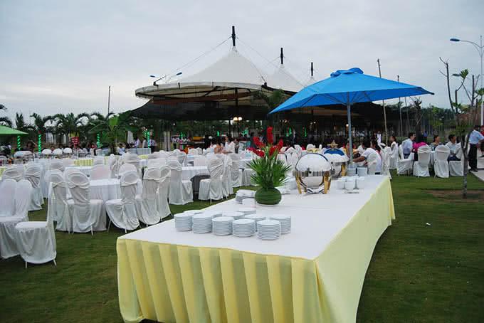 Nơi đây là điểm đến yêu thích cho nhiều sự kiện tiệc hoặc buffet ngoài trời